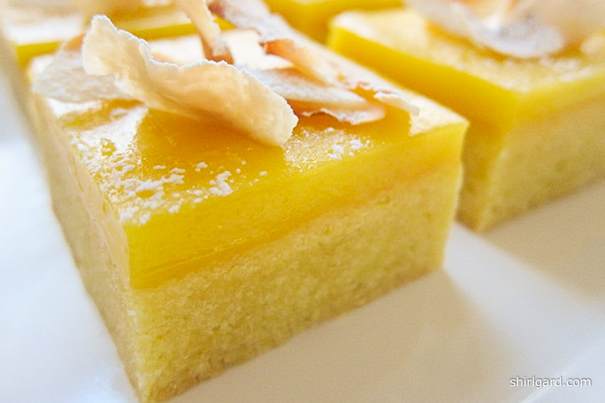 Lemon Curd Bars