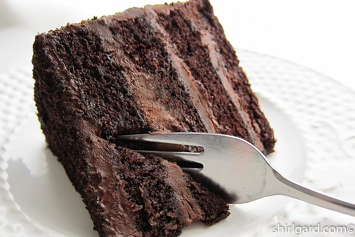Shirl's Brooklyn Blackout Cake