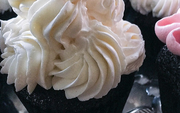Black & White: Devil's Food Cupcake
